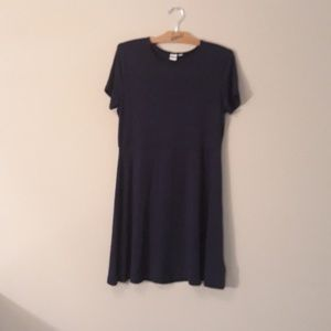 Gap New Navy Dress Cute! Size L New Without Tags